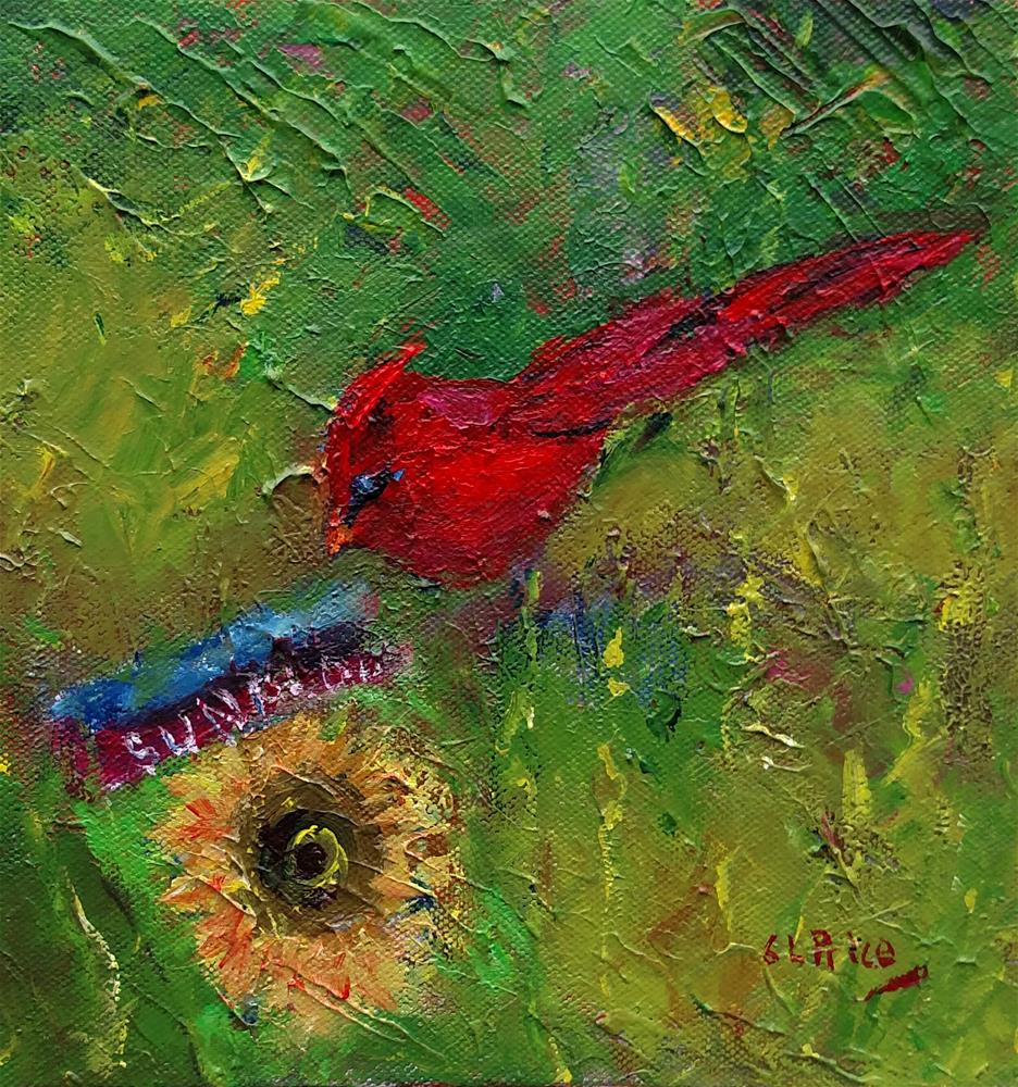 """""""An Easy Meal"""" original fine art by S. Lynne Price"""