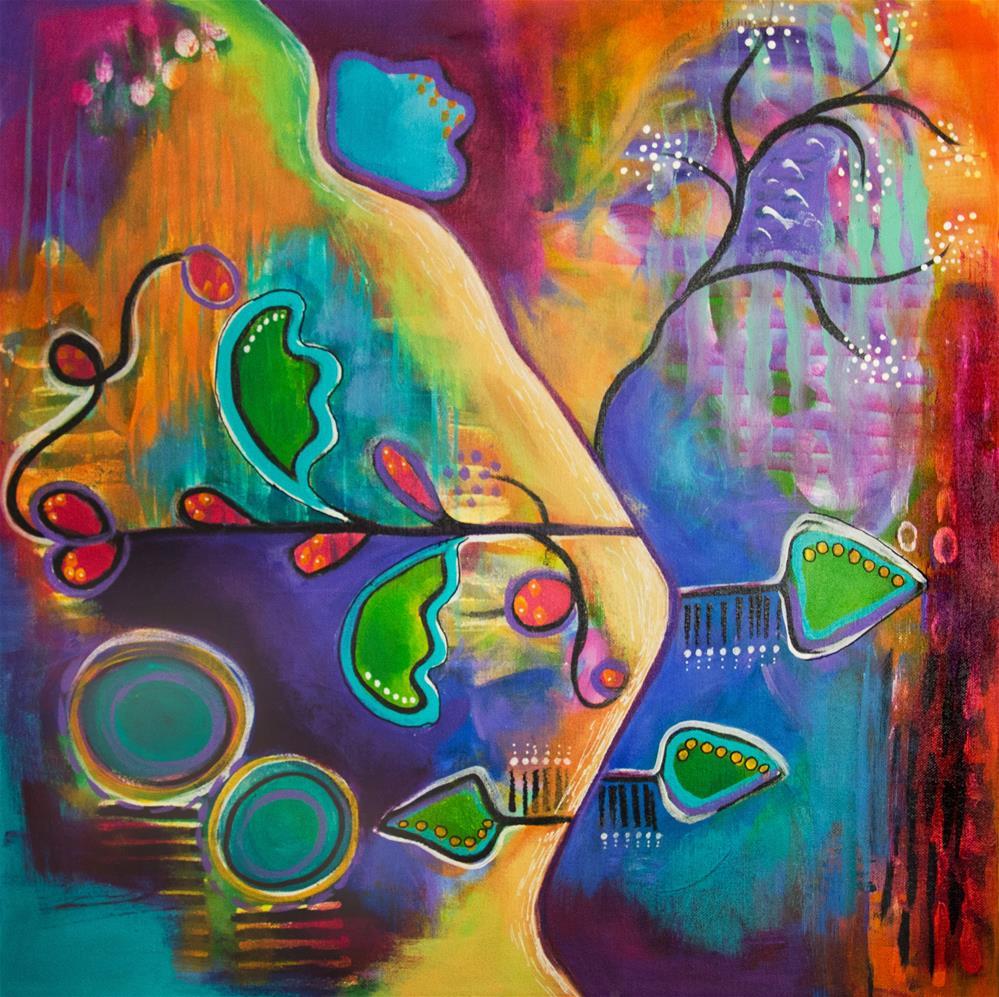 """Mellow Road"" original fine art by Susan Bertocci"