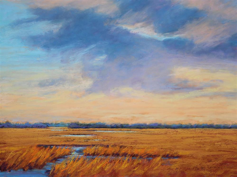 """""""Autumn Gold"""" original fine art by Sharon Lewis"""