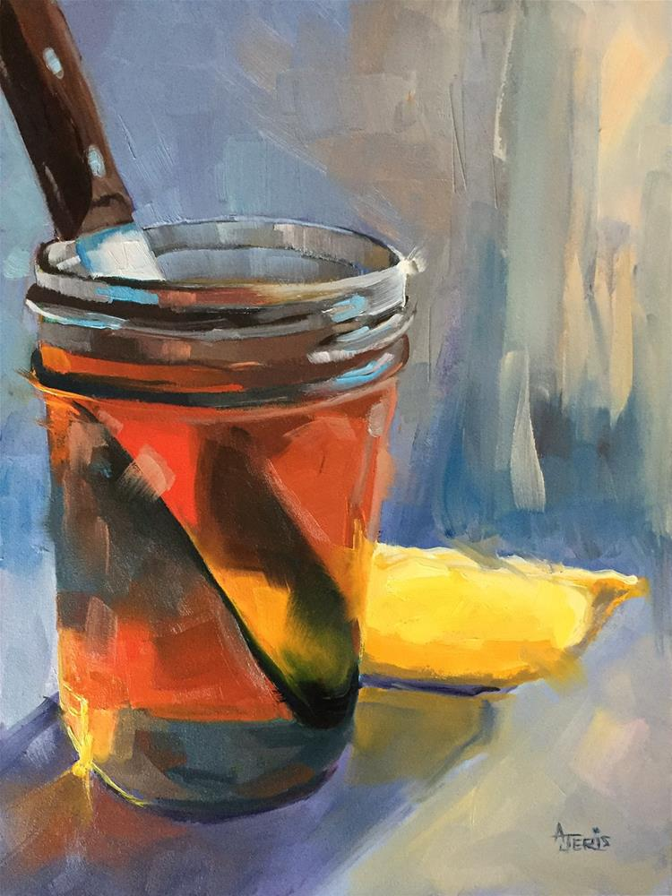 """Honey & Lemon"" original fine art by Andrea Jeris"
