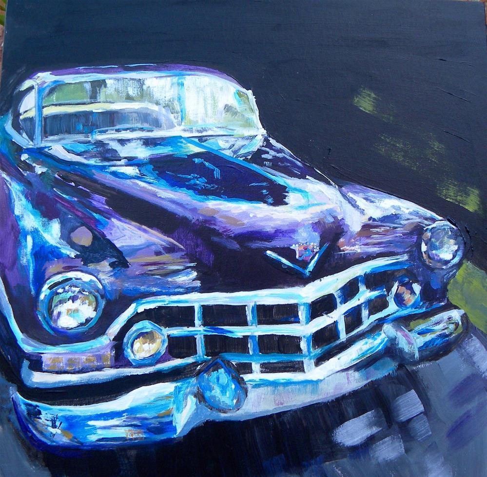 """Boss Street Rod"" original fine art by cheryl buhrman"