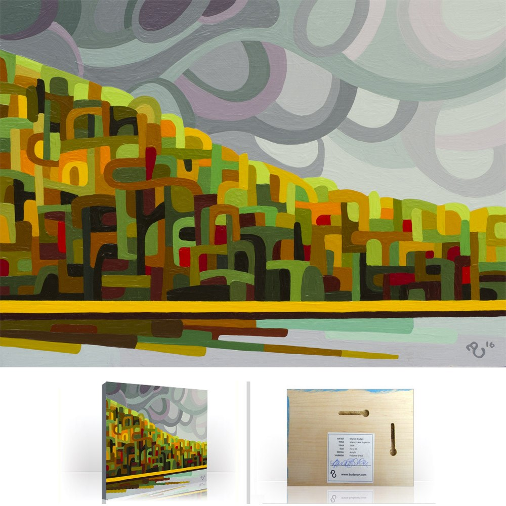 """Landscape Study #90"" original fine art by Mandy Budan"