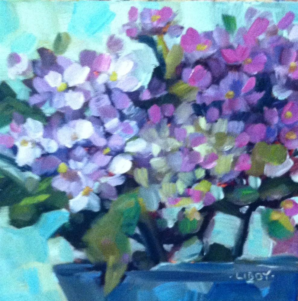 """Purple Mist"" original fine art by Libby Anderson"