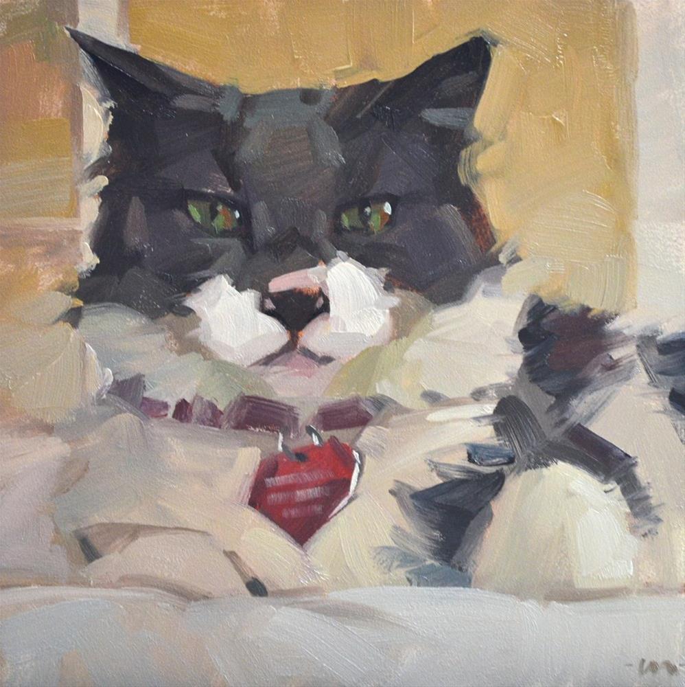 """Marmalade"" original fine art by Carol Marine"
