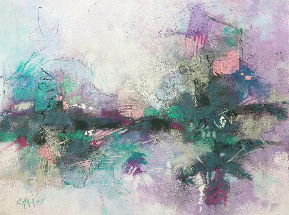 """Island"" original fine art by Cindy Haase"