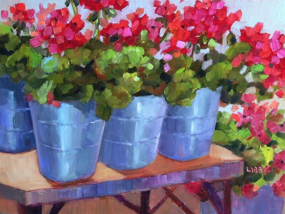 """""""Next in Line"""" original fine art by Libby Anderson"""