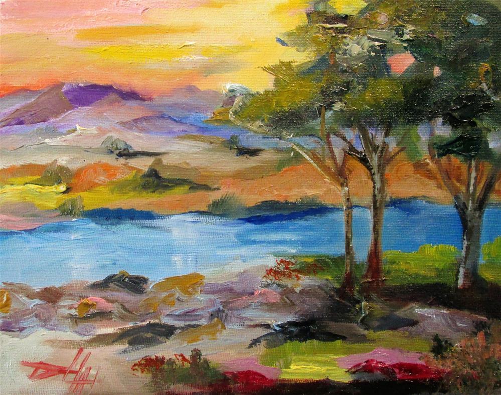"""Landscape No.22"" original fine art by Delilah Smith"