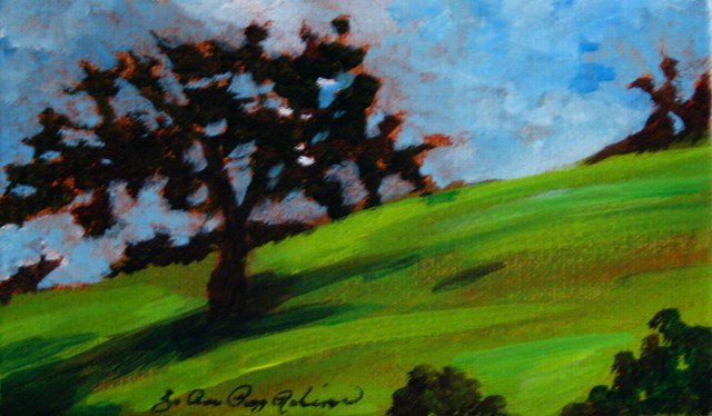 """California Dreaming"" original fine art by JoAnne Perez Robinson"