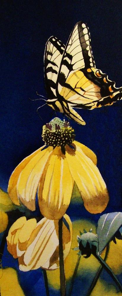 """Thirty Paintings in Thirty Days ~ Day Thirteen"" original fine art by Jacqueline Gnott, TWSA, WHS"