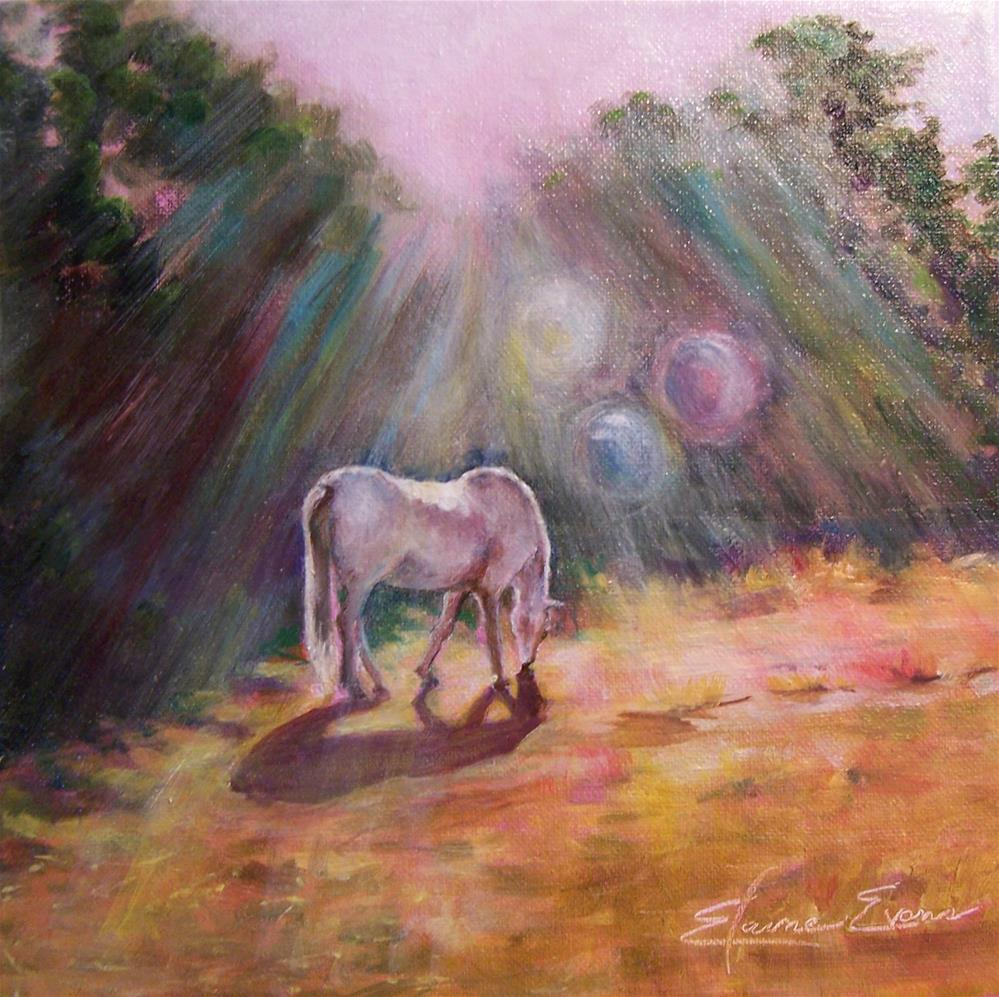 """Morning Spirits"" original fine art by Elaine Evans"