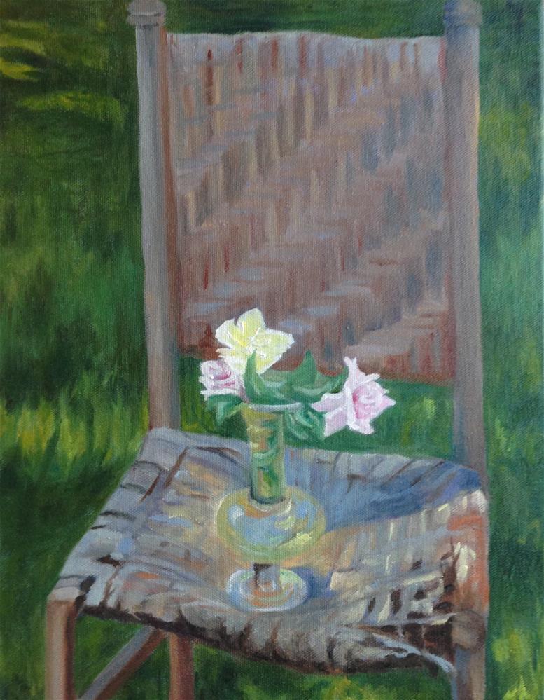 """Homage to JSS"" original fine art by Karen Collins"