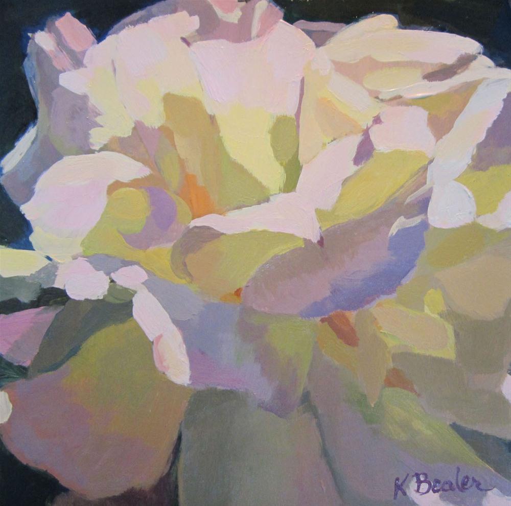 """""""GardenRose"""" original fine art by Kaethe Bealer"""