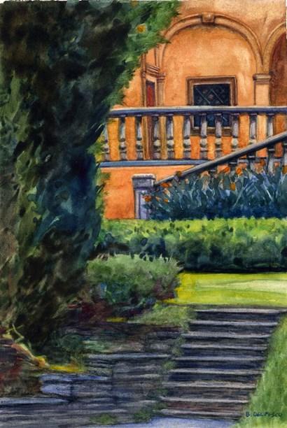 """""""Watercolor: Alverno"""" original fine art by Belinda Del Pesco"""