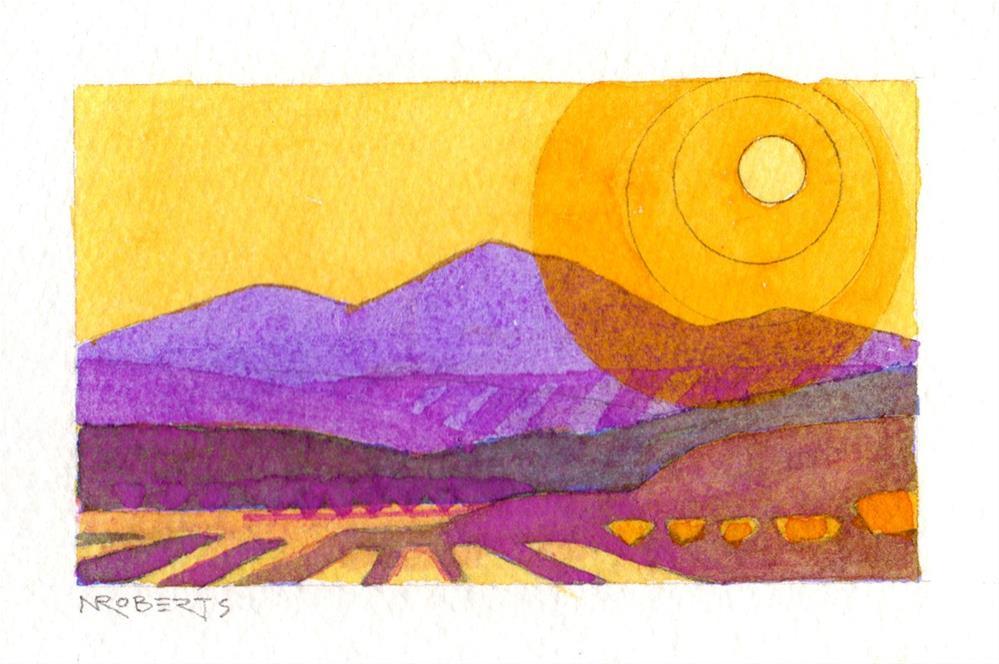 """Heartland"" original fine art by Nancy Roberts"