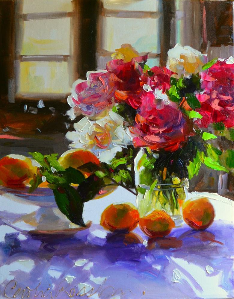 """MASON JAR"" original fine art by Cecilia Rosslee"