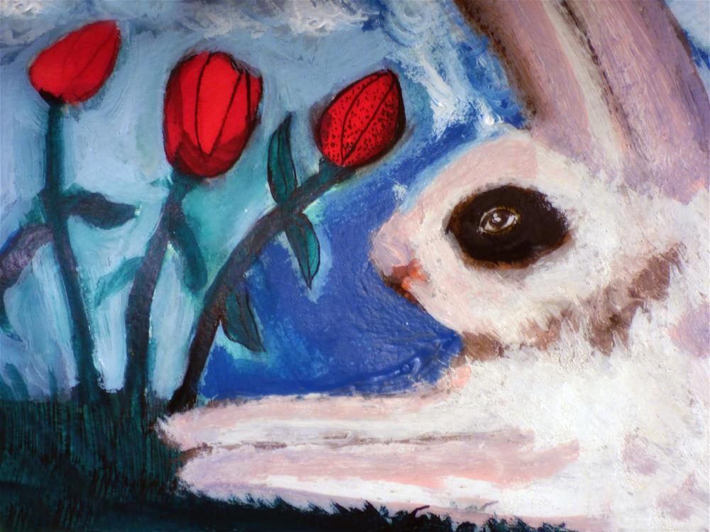 """Nature Lover"" original fine art by Terri Brown-Davidson"