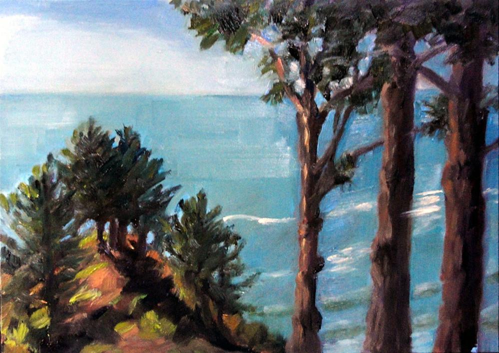 """Wedding Point, Another View"" original fine art by Cietha Wilson"