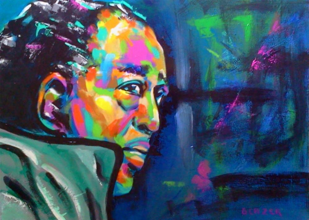 """Duke Ellington"" original fine art by Stuart Glazer"