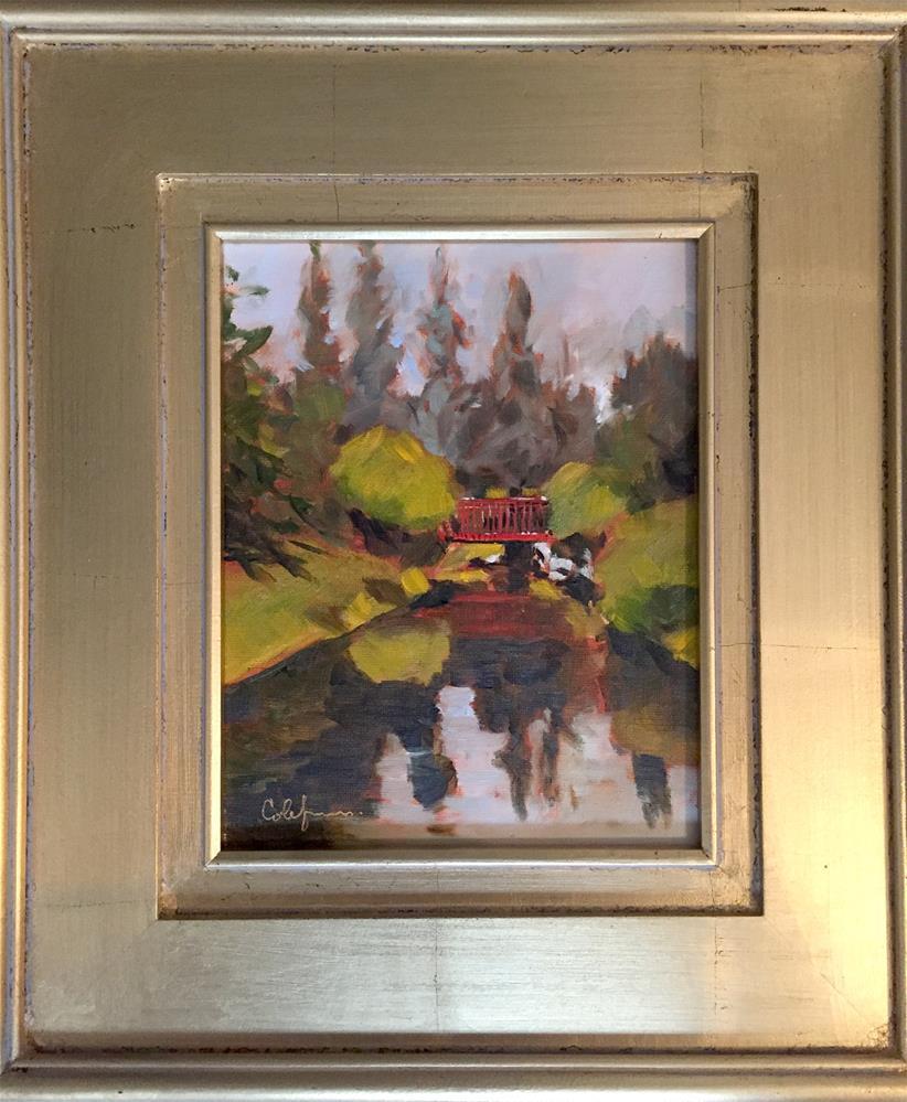 """Dow Garden Study"" original fine art by Cornelis vanSpronsen"