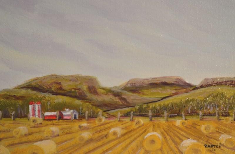 """Hill Country Harvest"" original fine art by Janice Bartke Thompson"