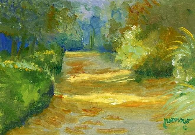"""Day 21  Alley #2 "" original fine art by Sue Furrow"
