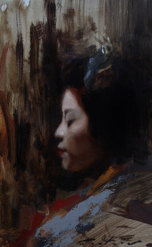 """Katsutomo"" original fine art by Phil Couture"