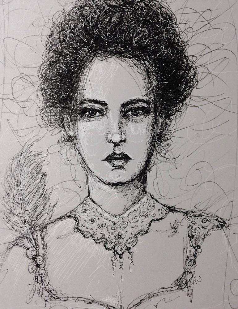 """Elegance"" original fine art by Roberta Schmidt"