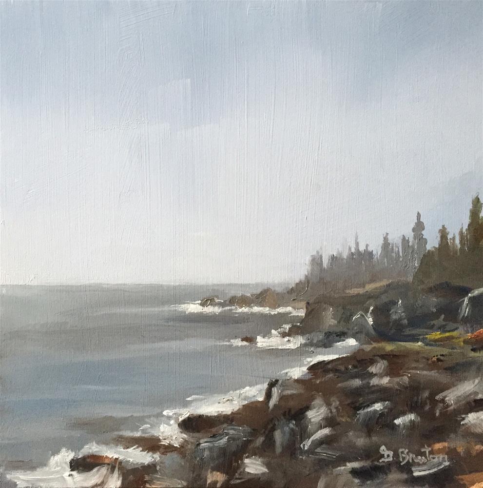 """""""Sea Mist"""" original fine art by Gary Bruton"""
