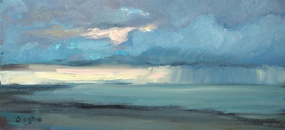 """Sea Storm"" original fine art by Angela Ooghe"