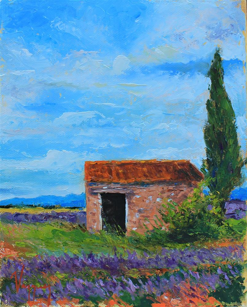 """""""Rural landscape"""" original fine art by Marco Vazquez"""