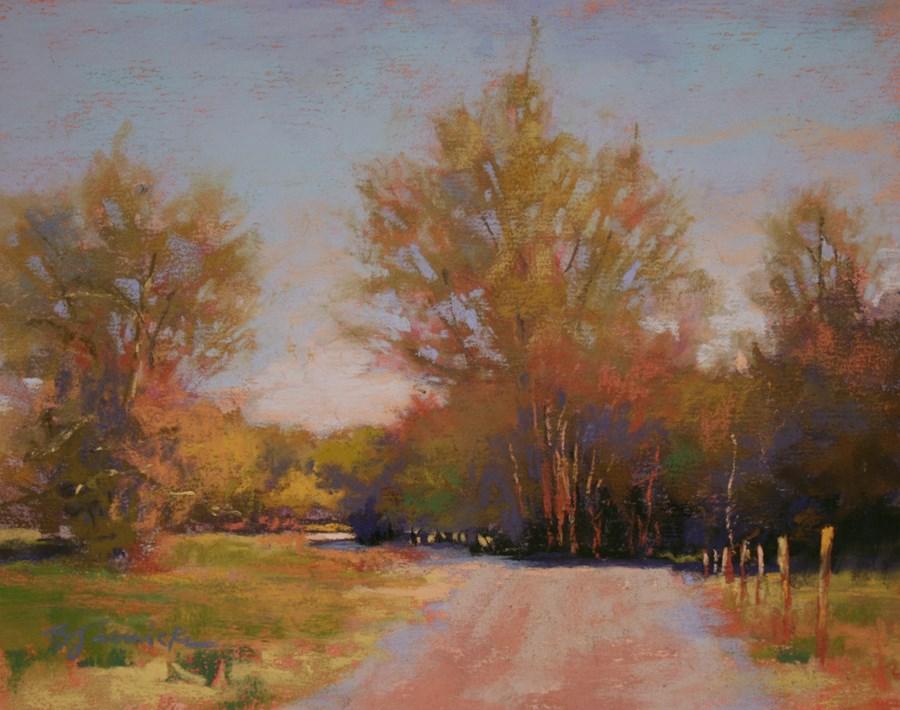 """Springtime Afternoon"" original fine art by Barbara Jaenicke"