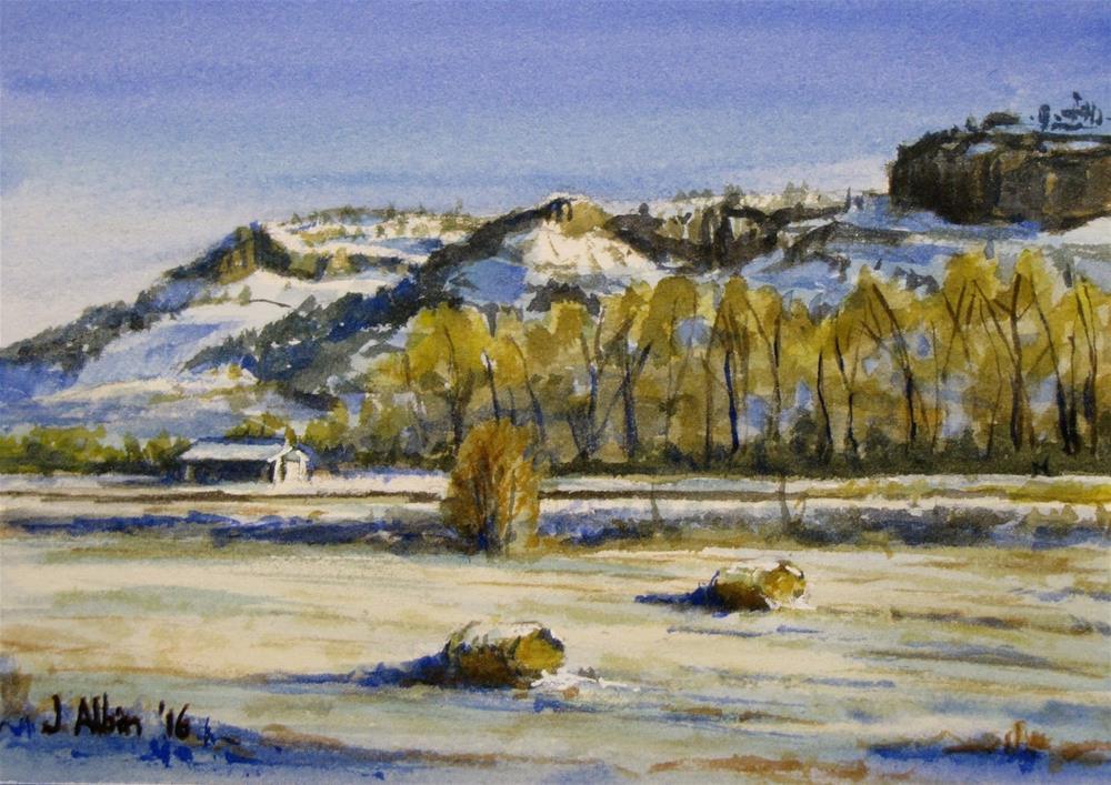 """""""Eastern Montana"""" original fine art by Jane Albin"""