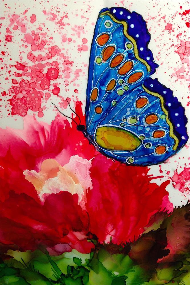 """""""Butterfly Garden XI"""" original fine art by Korinne Carpino"""