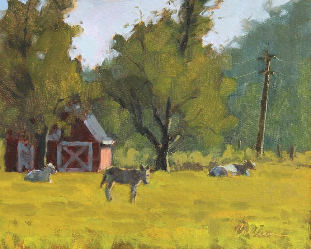 """""""Keeping Watch"""" original fine art by Colleen Parker"""