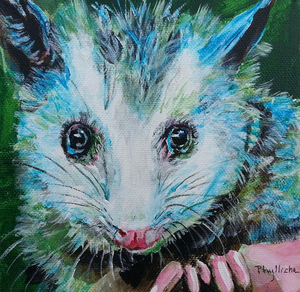 """Baby Opi"" original fine art by Phyllisha Hamrick"