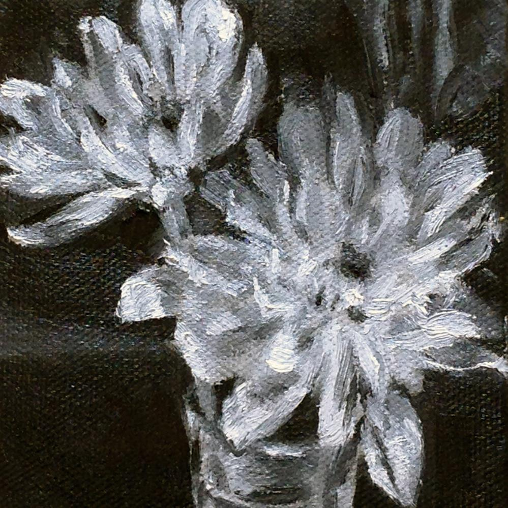 """""""Fifty Shades of Gray"""" original fine art by Linda Lowery"""