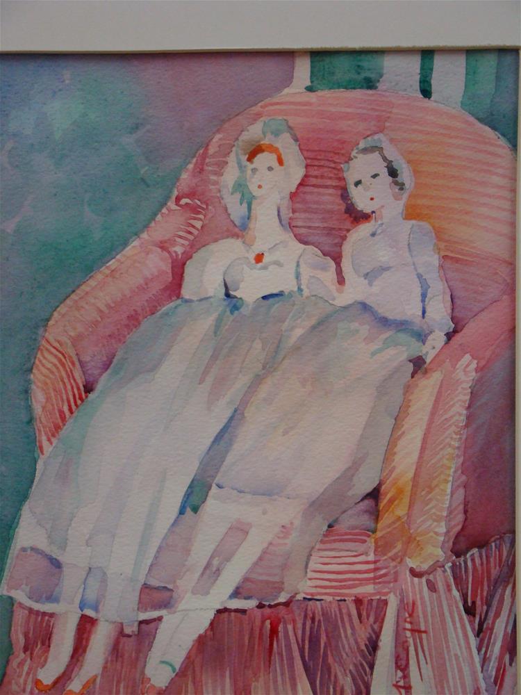 """""""almost people"""" original fine art by meribeth coyne"""