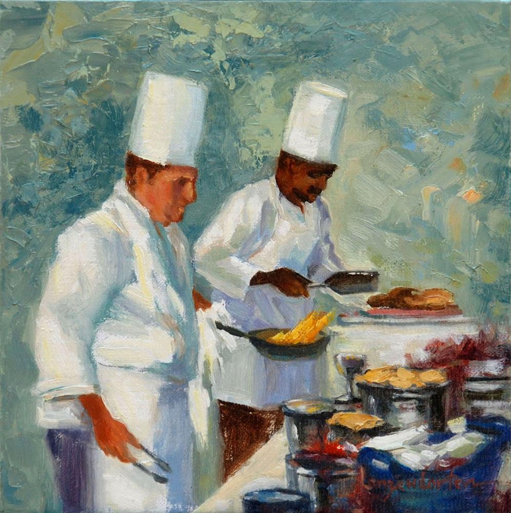 """ALL YOU CAN EAT"" original fine art by Dj Lanzendorfer"
