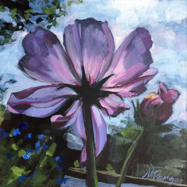 """Inner Glow"" original fine art by Mary Pargas"