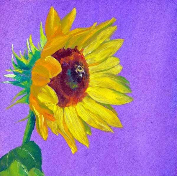"""""""Bee Mine"""" original fine art by Brenda Ferguson"""