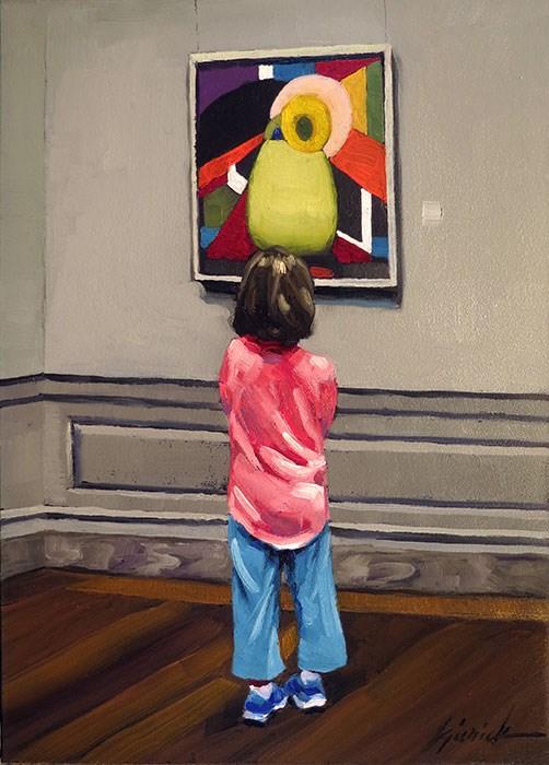 """""""Flower Child"""" original fine art by Karin Jurick"""