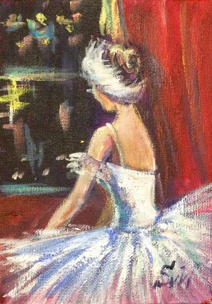 """""""Swan Lake"""" original fine art by Sonia von Walter"""
