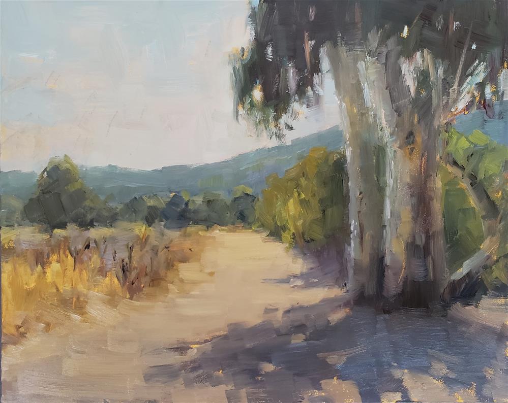 """Carmel Valley Trail"" original fine art by Barbie Smith"