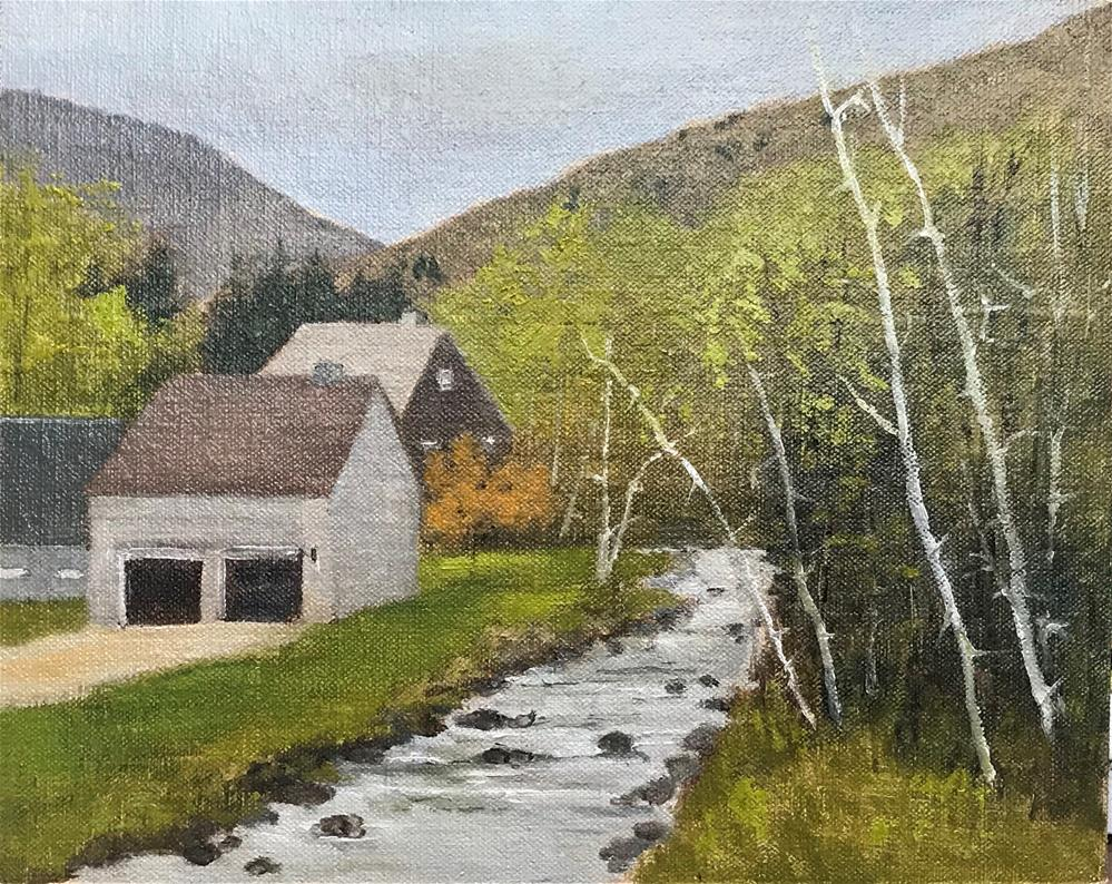 """Westin, Vermont"" original fine art by Betty Argiros"