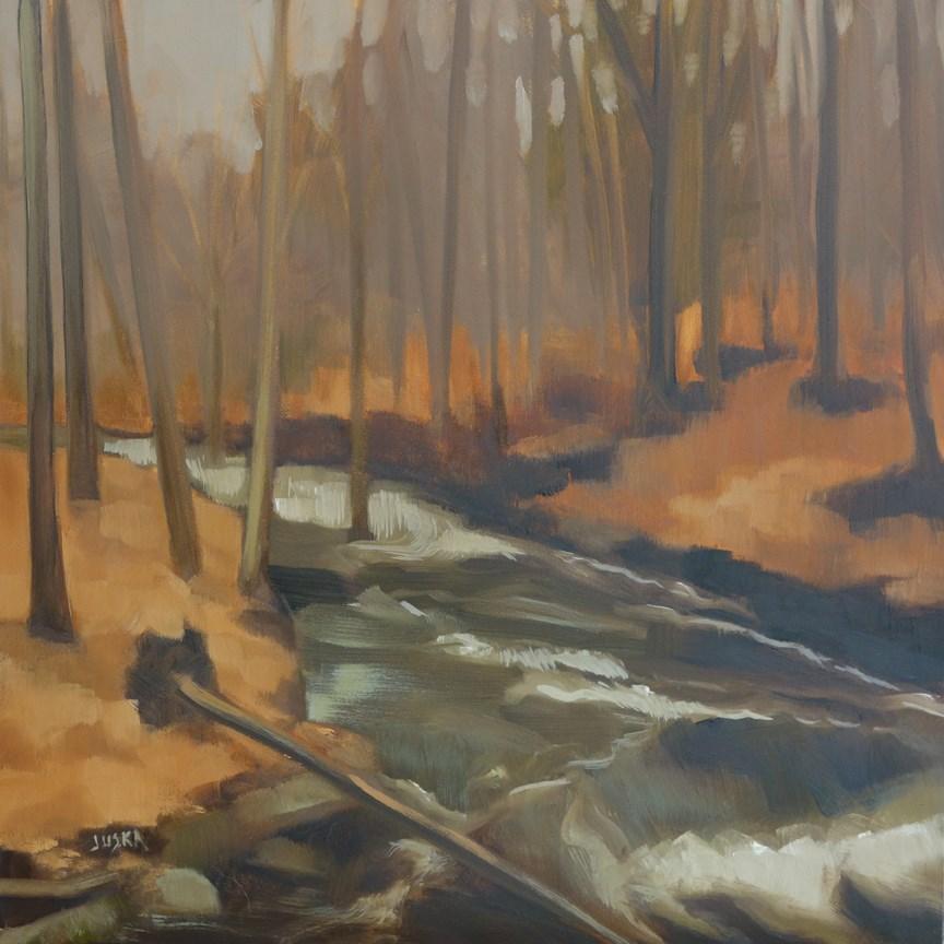 """""""Bolton Creek"""" original fine art by Elaine Juska Joseph"""