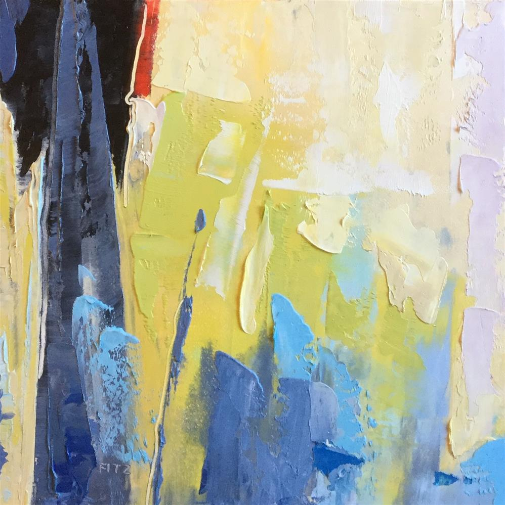 """""""Abstract 93"""" original fine art by Charlotte Fitzgerald"""