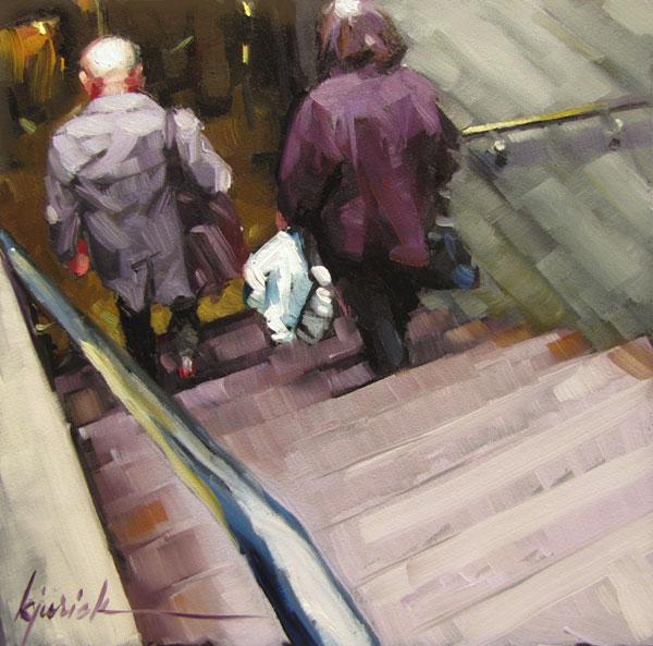 """""""Down Under"""" original fine art by Karin Jurick"""