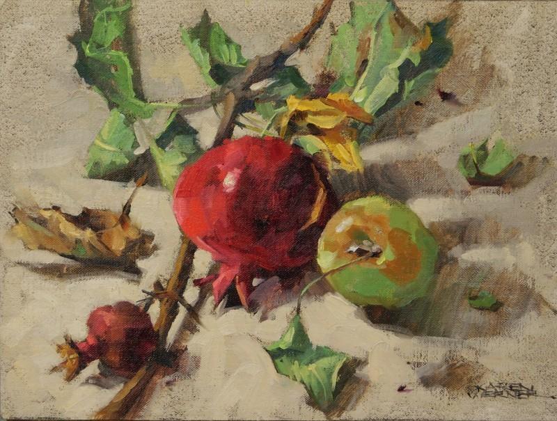 """Fall Burst"" original fine art by Karen Werner"