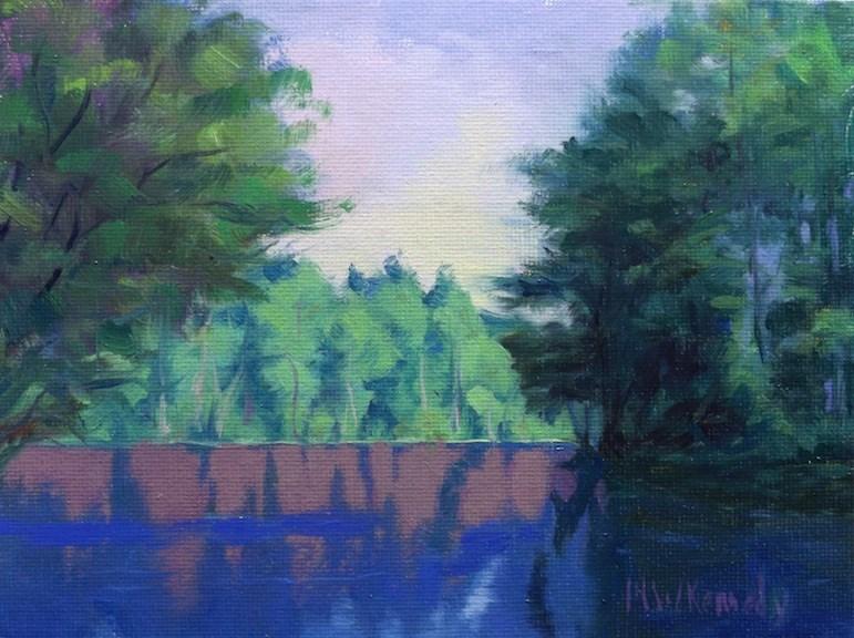 """Reflections #4"" original fine art by Michael Kennedy"