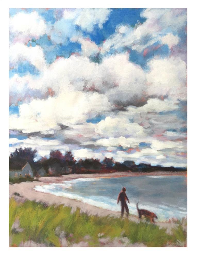 """Cloud Drama At Willard No. 2"" original fine art by Suzanne Woodward"